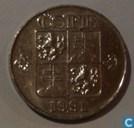 Tchécoslovaquie 5 korun 1991 (kremnica)