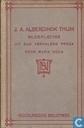 J.A. Alberdingk Thijm: bloemlezing uit zijn verhalend proza