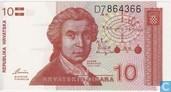 Croatia 10 Dinara