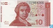 Croatie 10 Dinara 1991
