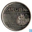Aruba 25 Cent 1987