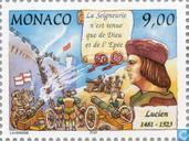 Postzegels - Monaco - Dynastie Grimaldi