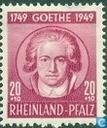200e geboortedag van Goethe