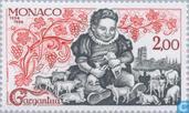 Postzegels - Monaco - Verschijnen Gargantua