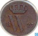Nederland ½ cent 1827 U