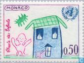Postage Stamps - Monaco - UNICEF