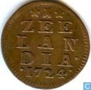 Zealand 1724 penny