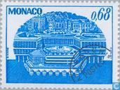 Briefmarken - Monaco - Clock Tower