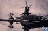 Boterdiep (met molen)
