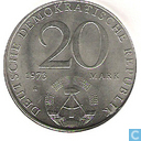 "Münzen - DDR - DDR 20 Mark 1973 ""Otto Grotewohl"""