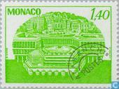 Postage Stamps - Monaco - Clock Tower