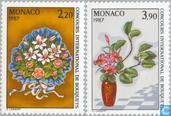 1986 Race flower arranging (MON 564)