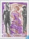 Postage Stamps - Monaco - Opera Carmen
