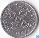 Finland 5 markkaa 1957