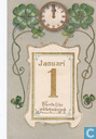 nieuwjaarskaart 5 jan. 1909