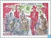 Briefmarken - Monaco - Oper Carmen