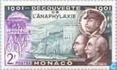 Postage Stamps - Monaco - Discovery anaphylaxis