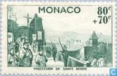 Postage Stamps - Monaco - Saint Devote celebrations
