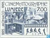 Postage Stamps - Monaco - Cinema 1895-1995