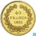 France 40 francs 1836