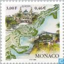 Postage Stamps - Monaco - Europe - Nature reserves anbd parks