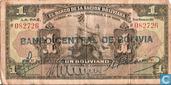 Bolivia 1 Boliviano