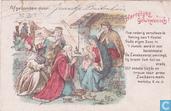 nieuwjaarskaart 31 dec. 1906