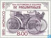 Briefmarken - Monaco - Automotive 1895-1995