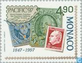 Briefmarken - Monaco - Int. Stamp-Zelt. PACIFIC '97