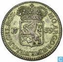 Gelderland viertel Gulden 1759