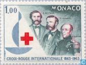 Postzegels - Monaco - 100 jaar Rode Kruis