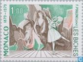 Briefmarken - Monaco - Oper Halle