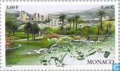 Postage Stamps - Monaco - Europa - Nature reserves and parks
