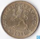 Finland 20 penniä 1981