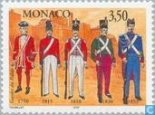 Postage Stamps - Monaco - Prince Palace Guard