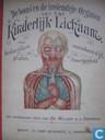 De bouw en de inwendige organen van het kinderlijk lichaam