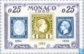 Postzegels - Monaco - Postzegeljubileum
