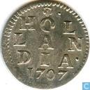Holland 2 stuivers 1707