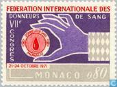 Postage Stamps - Monaco - 7th Congress of blood donors