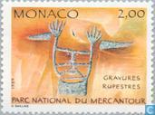 Postzegels - Monaco - Rotstekeningen