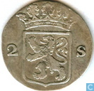 Coins - Holland - Holland 2 stuivers 1789