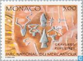 Timbres-poste - Monaco - Pétroglyphes