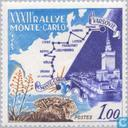 Postage Stamps - Monaco - Rallye Monte Carlo 3rd