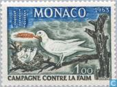 Postage Stamps - Monaco - Fight against hunger