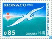 Briefmarken - Monaco - Expo '75 Okinawa