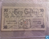 Netherlands 10 Gulden 1945