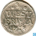 West-Friesland 2 pence 1713