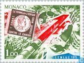 Postzegels - Monaco - Strijd tegen kanker