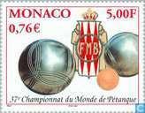 Timbres-poste - Monaco - Pétanque Cup