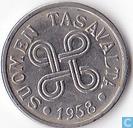 Finland 5 markkaa 1958